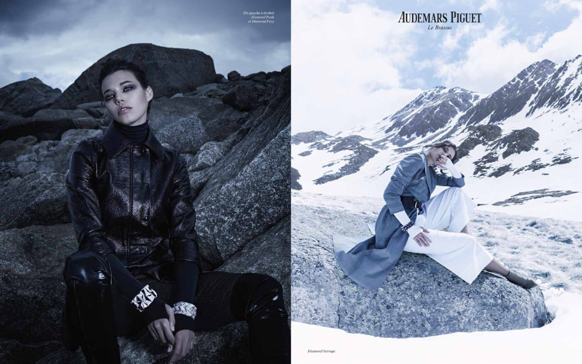 Audemars Piguet High Jewellery Watches styled by Arthur Mayadoux shot by Stephane Gallois AD Kappauf