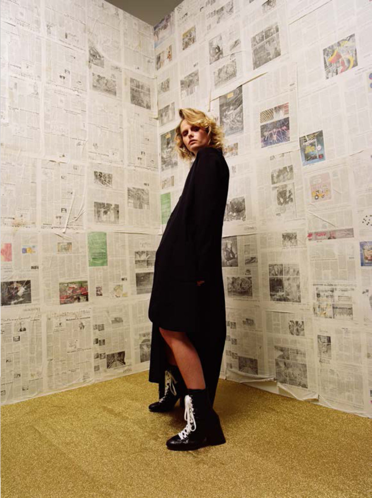 Styled by Arthur Mayadoux with Yohji Yamamoto / Victoria/Tomas