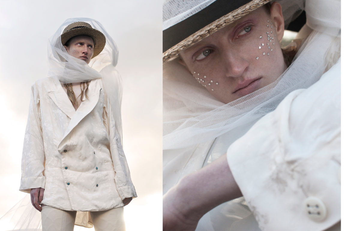 Styled by Arthur Mayadoux with Stetson, Andrea Kronthaler for Vivienne Westwood, Sergio Rossi