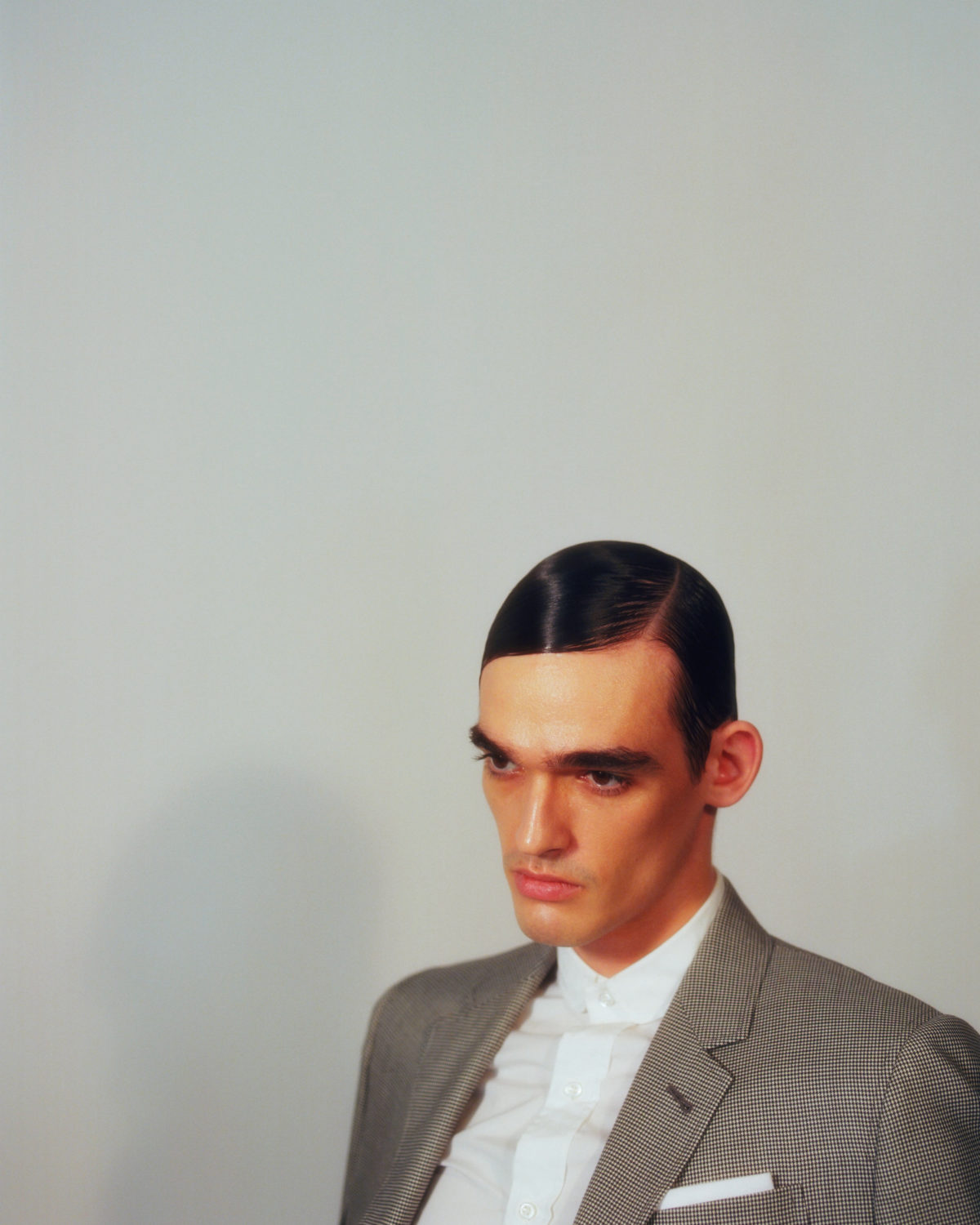 Men at work (c) Celine Bishoff Arthur Mayadoux styled with Thom Browne