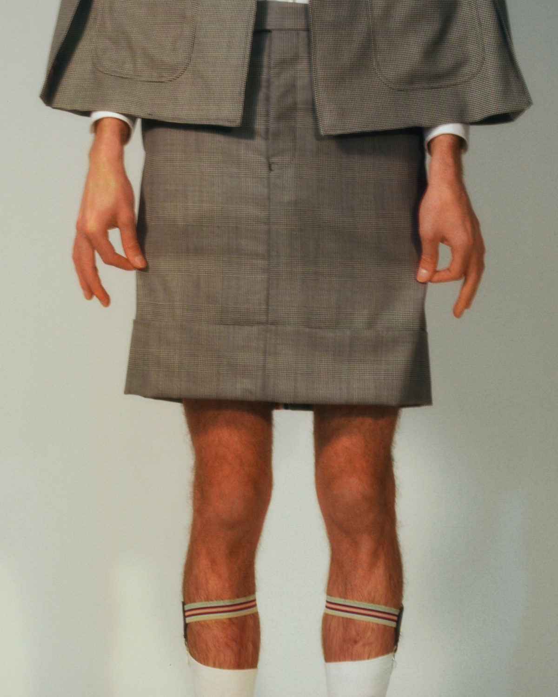 Men at work (c) Celine Bishoff Arthur Mayadoux styled with Thom Browne