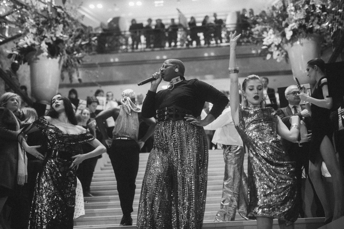 Performance ouverture Galerie Lafayette - Paris Ballroom scene x Arthur Mayadoux