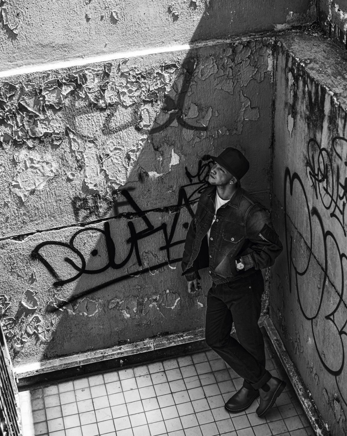 Anthony Bajon par Yannick Leconte Style par Arthur Mayadoux